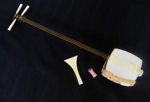 Shamisen - three stringed instruments
